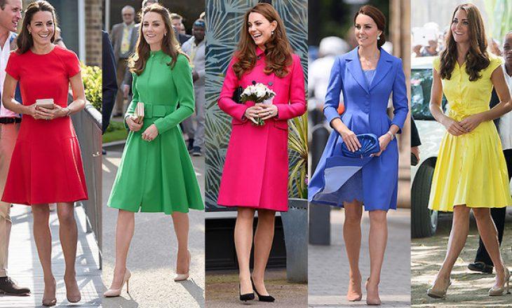 Dukesha e Kembrixhit Kate Middleton vesh çdo ngjyrë, përveç njërës