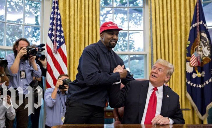 Kanye West shpall kandidaturën për president të SHBA-së