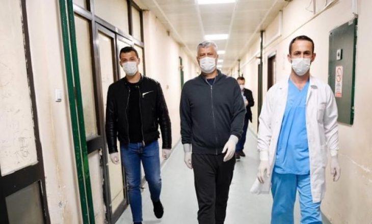 Mjeku që e kishte mjekuar Presidentin Thaçi rezulton pozitiv me COVID-19
