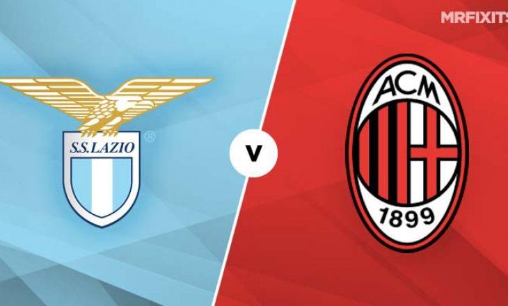 Lazio – Milan, formacionet