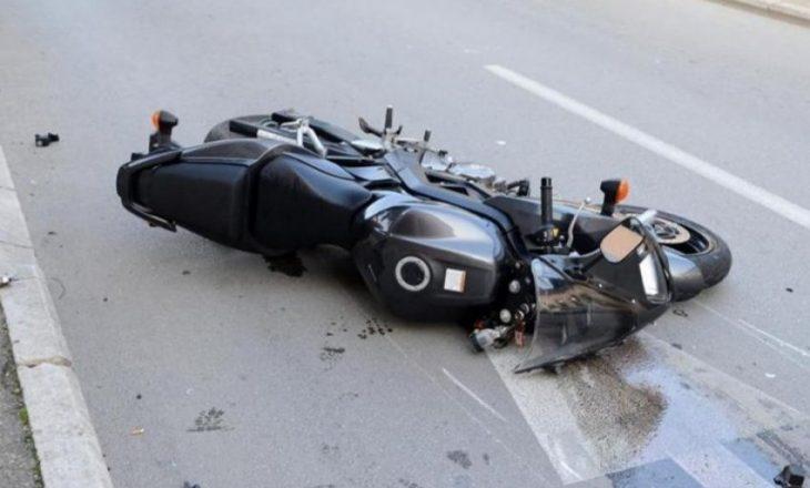 Aksident në Prishtinë në mes të dy motoçikletave