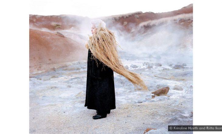 Projekti artistik me fotografi të inspiruara nga folklori nordik