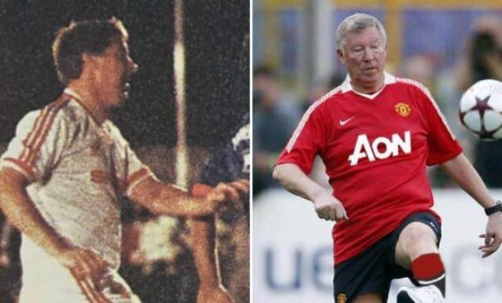 A e dini se Sir Alex Ferguson luajti një ndeshje futbolli për Man United?