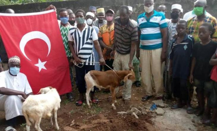 Në Togo festojnë me kurban për kthimin e Shën Sofisë në xhami
