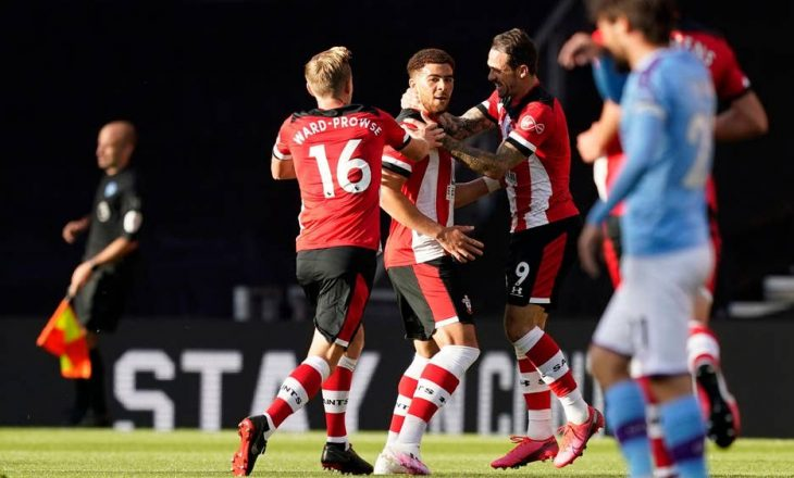 City e mposhti 4 me 0 Liverpool, por humbë nga Southempton