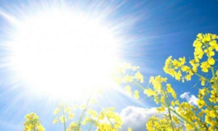 Festë më temperatura, sot do arrijë deri në 34 gradë celsius