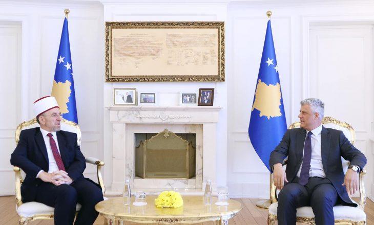 Presidenti komenton nisjen e Xhamisë së re në Prishtinë