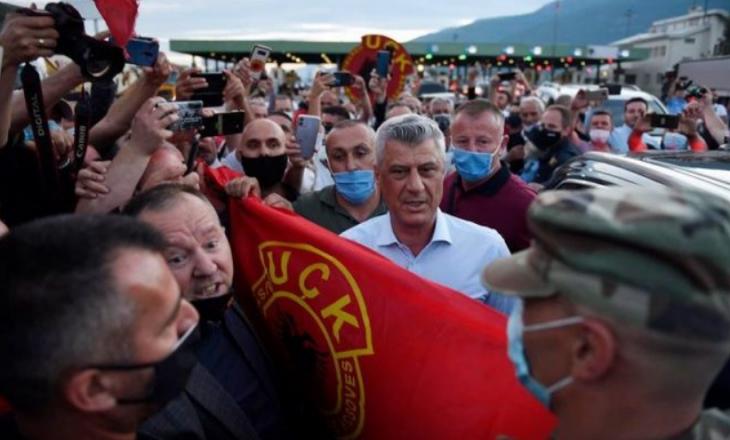 Mediet botërore e quajnë pritje madhështore kthimin e Thaçit në Kosovë