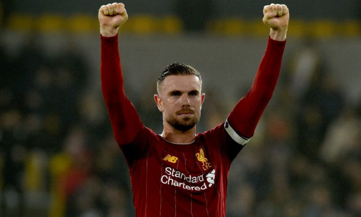 Jordan Henderson shpallet lojtari i sezonit në Premier Ligë