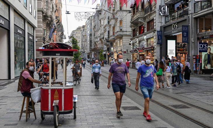 Mbi 200.000 të infektuar në Turqi