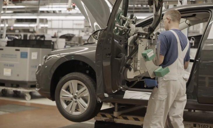 Industria e veturave në Europë ka rënie të madhe