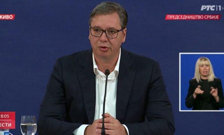Vuçiq: Nga e premtja Serbia futet në shtetrrethim
