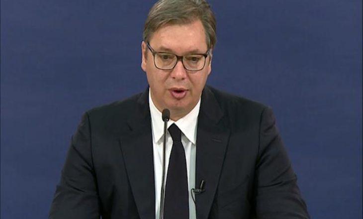 Vuçiq: Hoti po kërkon të bëhet presion ndaj Serbisë për njohjen e Kosovës