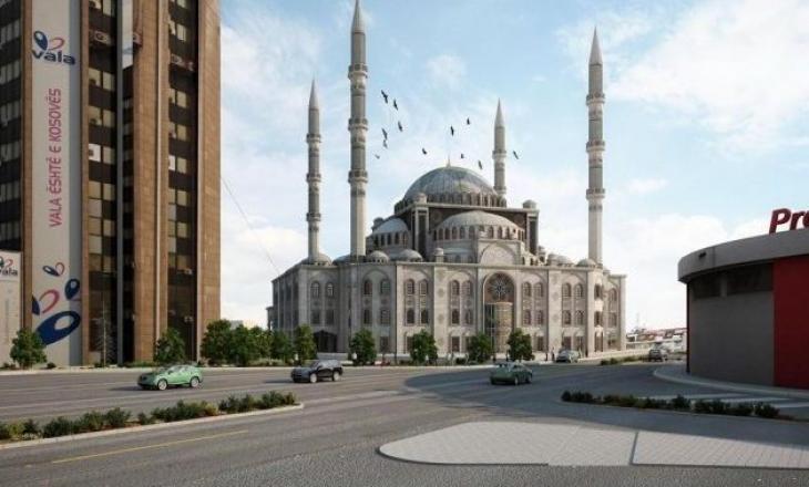 """Nis ndërtimi i Xhamisë Qendrore në kryeqytet pas 8 vitesh, Tërnava e quan atë """"bukuroshe"""" të Prishtinës"""