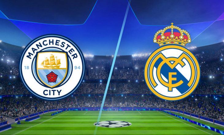 Formacionet Zyrtare: Manchester City vs Real Madrid (FOTO)