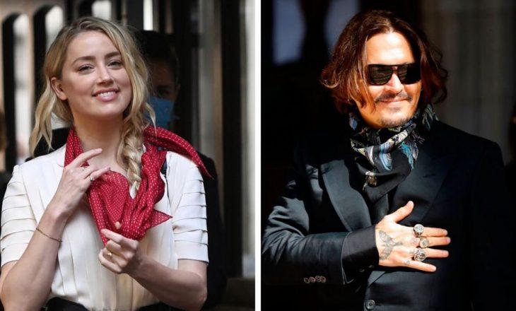 Johhny Deep ngre akuzën multi million dollarëshe kundër Amber Heard