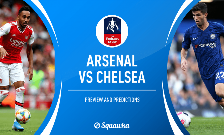 Formacionet Zyrtare: Arsenal vs Chelsea