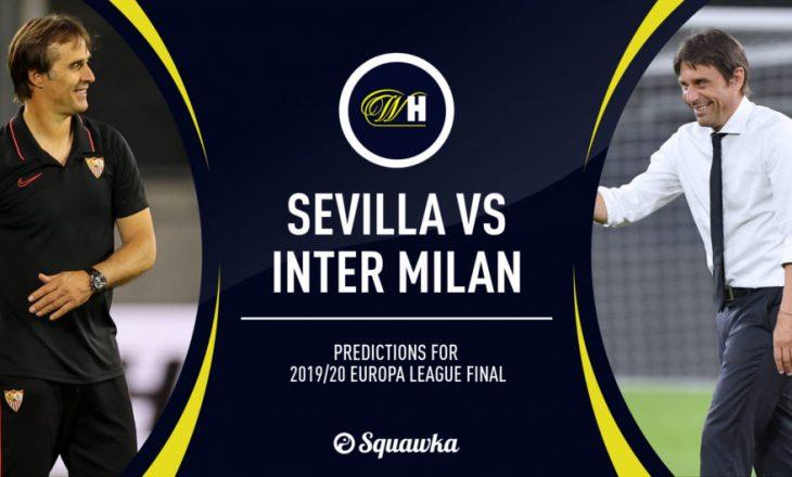 Sevilla vs Inter – Formacionet zyrtare të finales së madhe