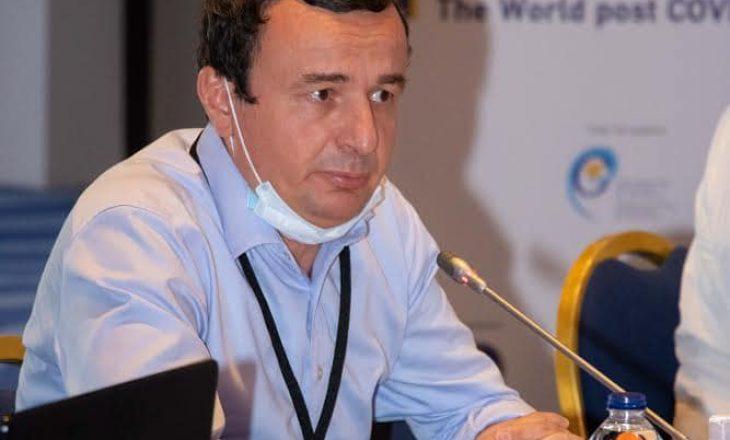 Albin Kurti merr pjesë në simpoziumin ndërkombëtar Symi Symposium