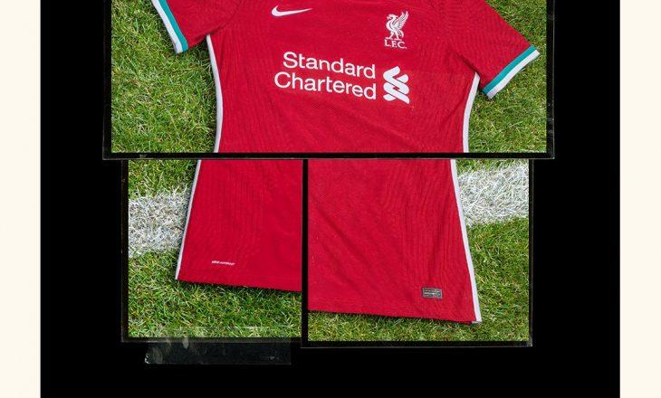 Liverpool prezanton fanellat e reja nga Nike