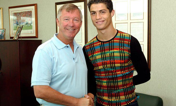 Sot, 17 vite më parë, Ronaldo kishte nënshkruar me United – Pjesa tjetër është histori