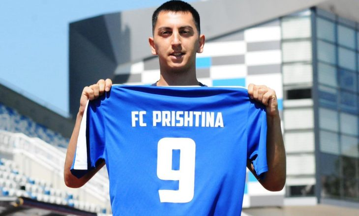 Leotrim Kryeziu prezantohet si lojtar i Prishtinës