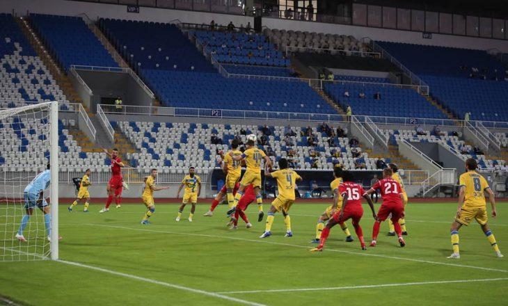 Gjilani eliminohet nga UEFA Europa League, duke u mundur nga APOEL FC vetëm në vazhdime