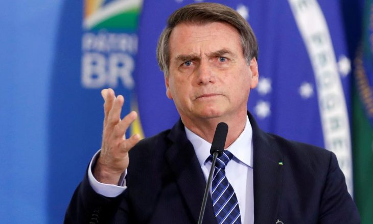 """Presidenti brazilian kërcënon reporterin: """"Dua të të grushtoj në gojë"""""""
