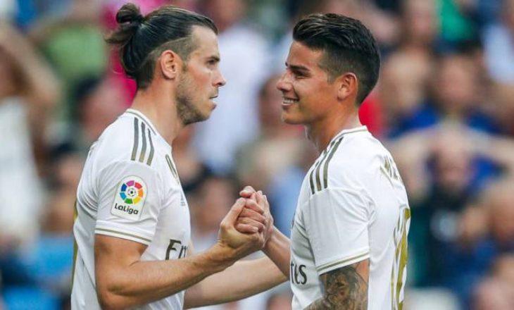 Gareth Bale dhe James Rodriguez nuk ftohen për ndeshjen ndaj Manchester City