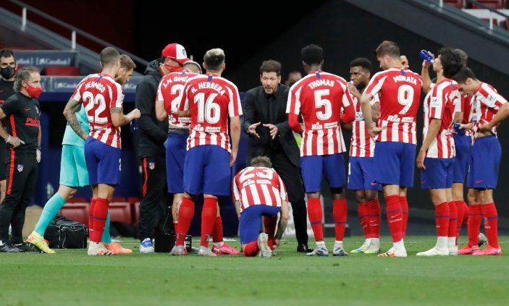"""""""Shokohet"""" Atletico Madrid – dy lojtarë dalin pozitiv me Covid 19"""