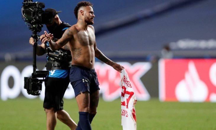 Neymar e shkëmbeu fanellën – UEFA merr vendimin e saj