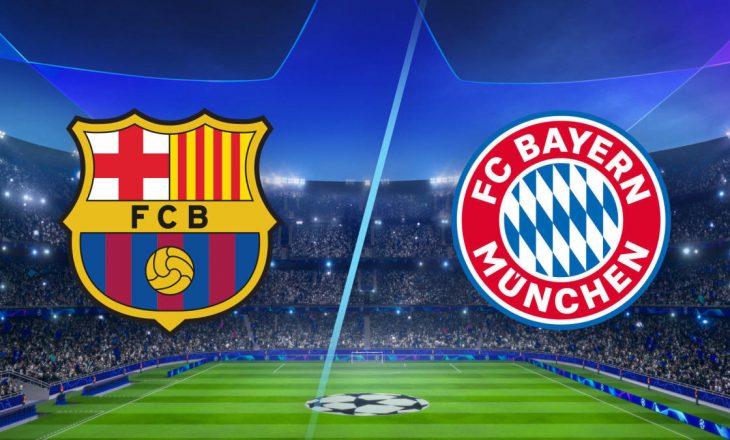 Formacionet Zyrtare: Barcelona vs Bayern Munich (FOTO)