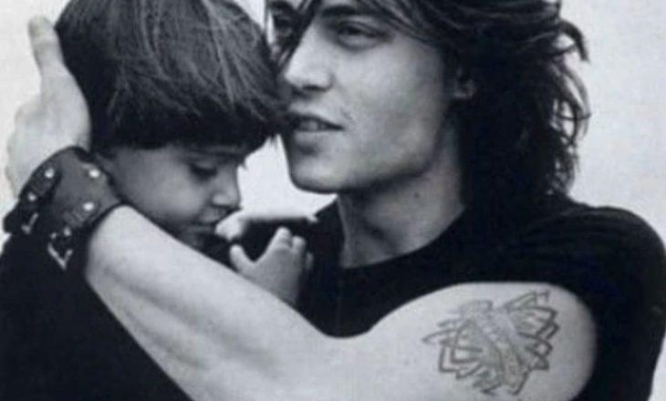 Djali i vogël i aktorit Johnny Depp është rritur dhe ka një të dashur