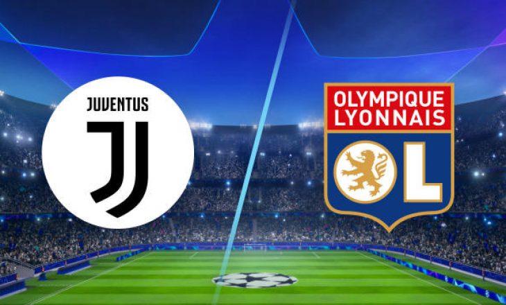 Formacionet Zyrtare: Juventus vs Lyon(FOTO)
