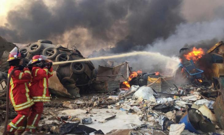 Lajmi i fundit: Së paku 10 të vdekur nga shpërthimi masiv në Bejrut (VIDEO)