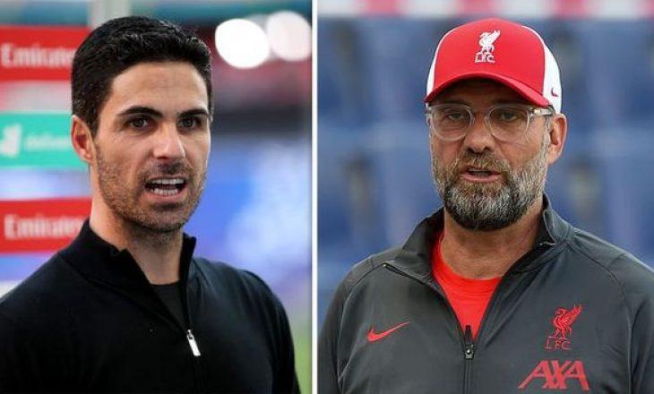 Arsenal vs Liverpool – Formacionet zyrtare të finales së FA Community Shield