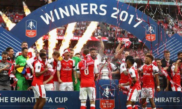 Arsenal fiton Fa Cup – Siguron pjesëmarrjen në Evropa Ligë