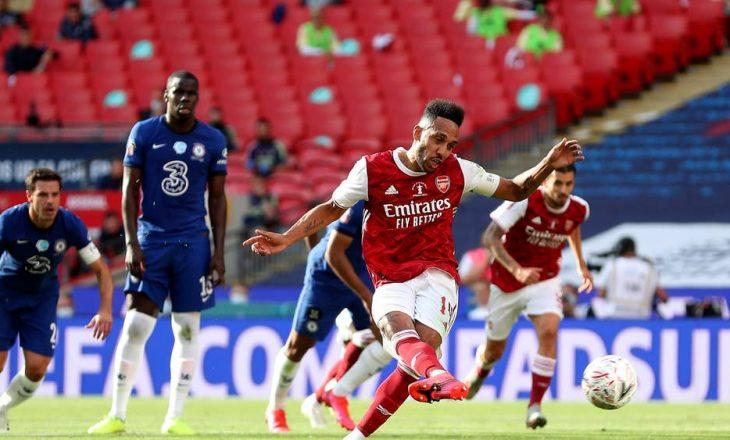 Arsenal vs Chelsea – Përfundon pjesa e parë