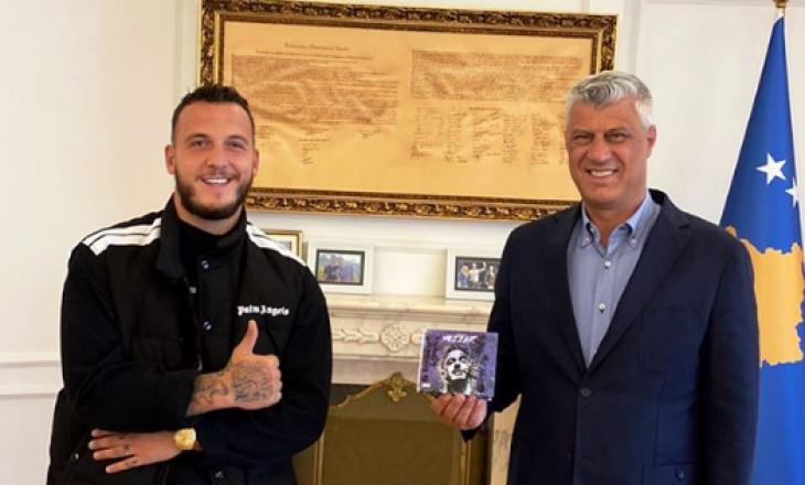 Mozzik takohet me presidentin Hashim Thaçi dhe liderin e PDK Kadri Veseli