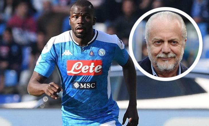 Presidenti i Napoli: Mos më pyesni mua për Koulibaly – pyesni United-in, City-n dhe PSG