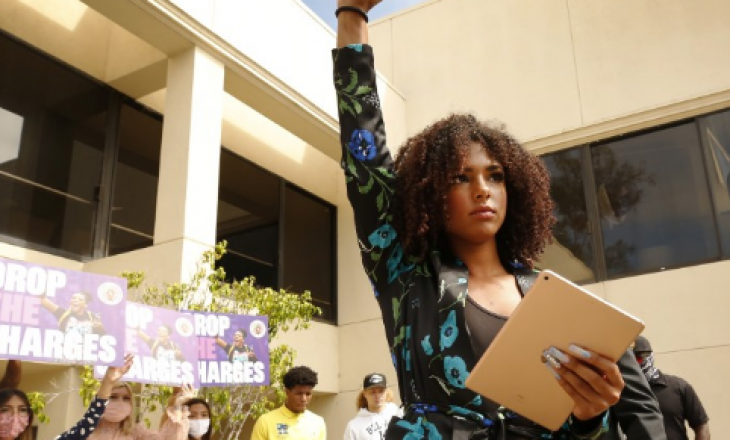 Organizuesja e Black Lives Matter përballet me dënimin prej 15 vitesh për protestë paqësore