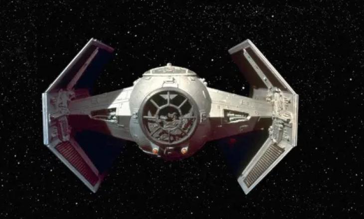 """Nasa gjen galaktikën që duket sikur TIE Fighter në """"Star Wars"""""""