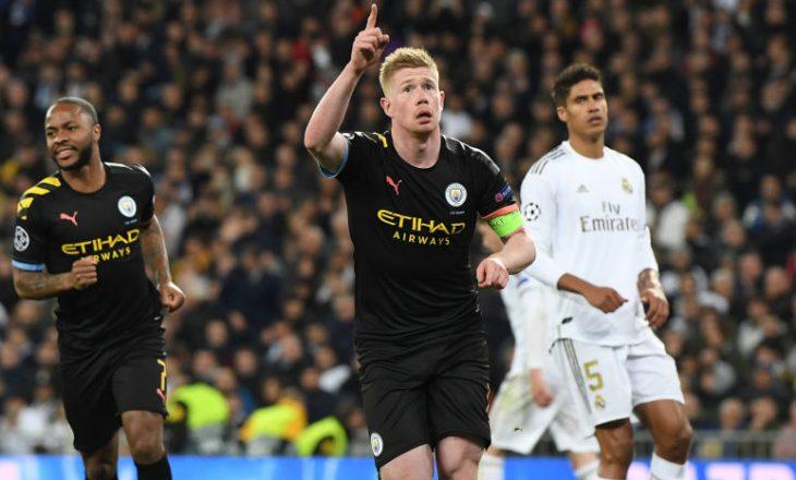 Manchester City e eleminon Real Madid-