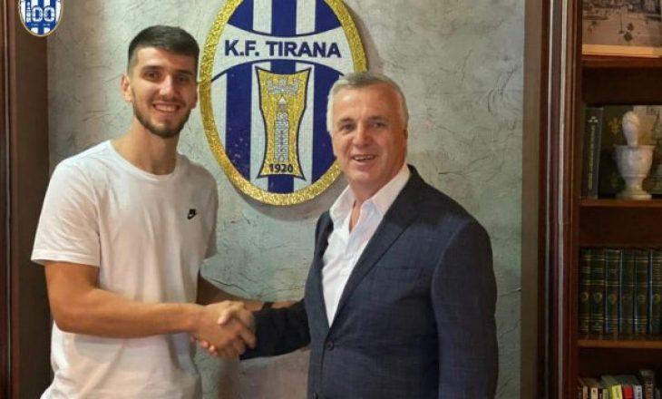 Tirana pagoi kaq para për Visar Bekajn