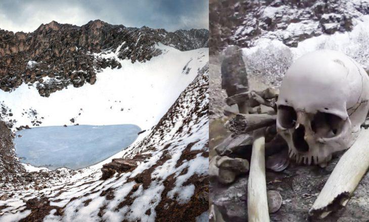 """Misteret antike të """"liqenit të skeleteve"""" në Himalajë"""
