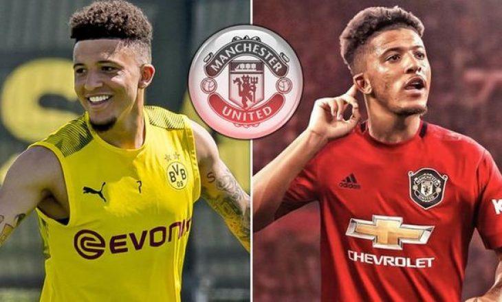 Fabrizio Romano: United dhe Dortmund janë në bisedime të avancuara për Sancho