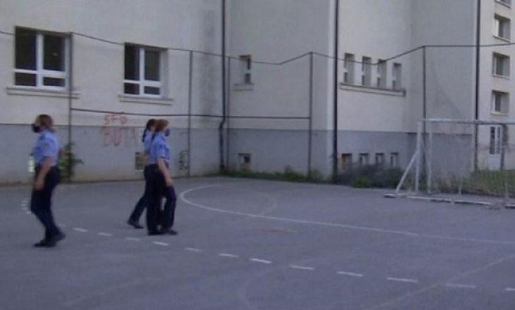 Policia ndërprenë ahengun në Shkollën Gjin Gazulli