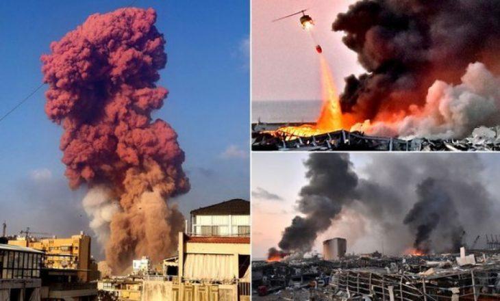 NASA tregon pamjet e shkatërrimit në Bejrut nga hapësira