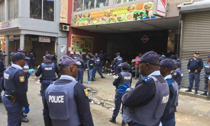 Për shkak të Coronavirusit bie krimi në Afrikën e Jugut