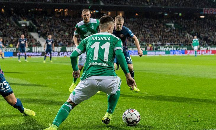 Trajneri i Bremen e konfirmon largimin e Rashica-s